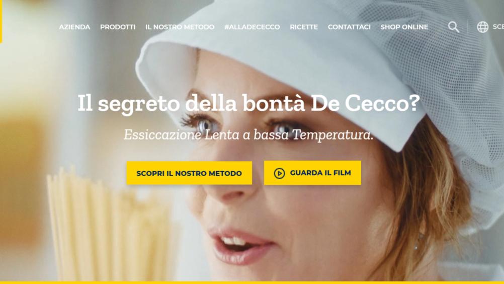 De Cecco: nuova campagna di comunicazione per la pasta