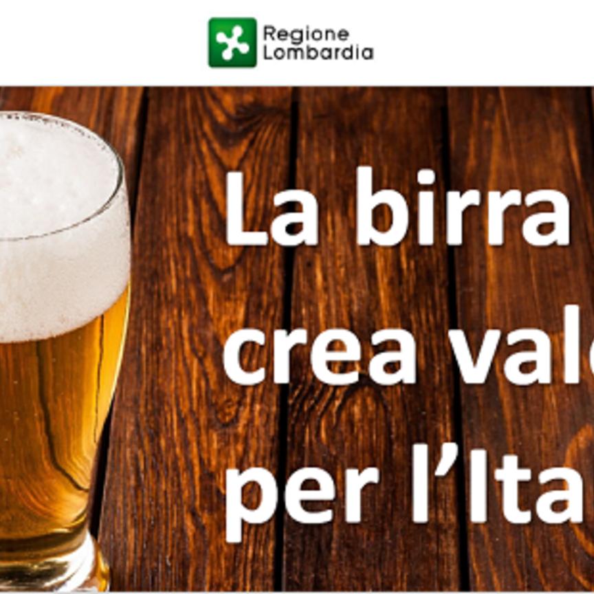 Birra: il settore vale quasi 9 miliardi di euro e il 25% proviene dalla Lombardia
