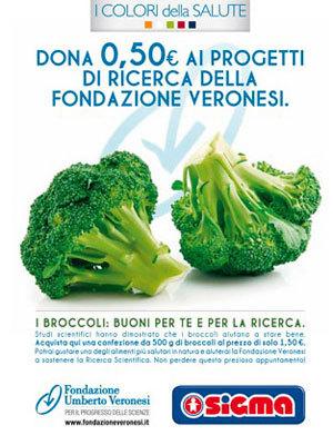 Sigma sostiene la fondazione Umberto Veronesi