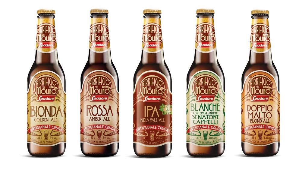 """Molino Spadoni crea una nuovissima gamma di birre artigianali a marchio """"Birrificio del Molino"""""""