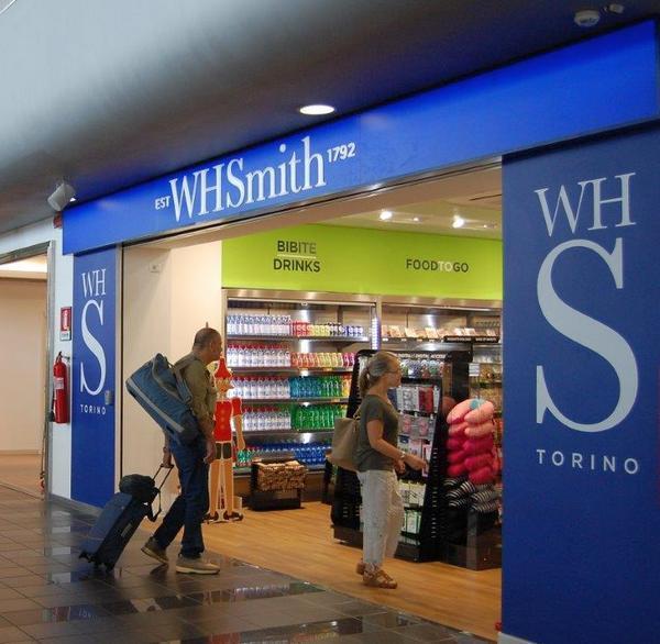 WHSmith - 1200 negozi nel mondo - apre a Torino Caselle