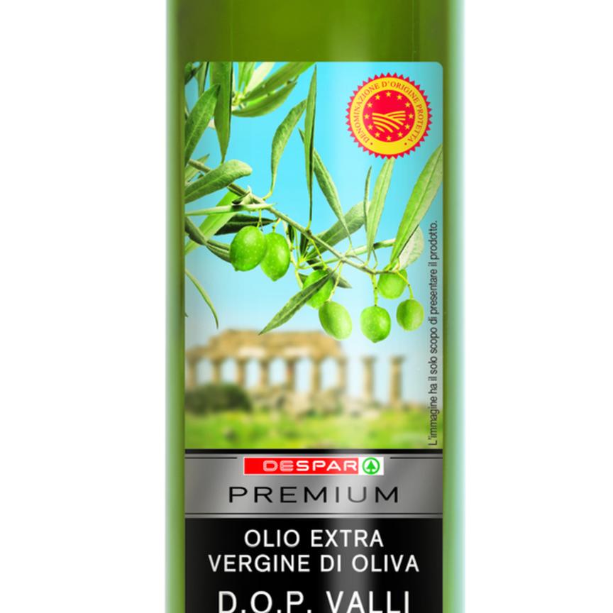 Gli oli extra vergini Despar Premium sostengono le filiere locali