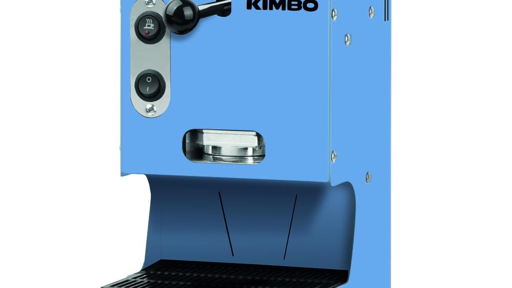 In arrivo la nuova macchina a cialde Kimbo Metal