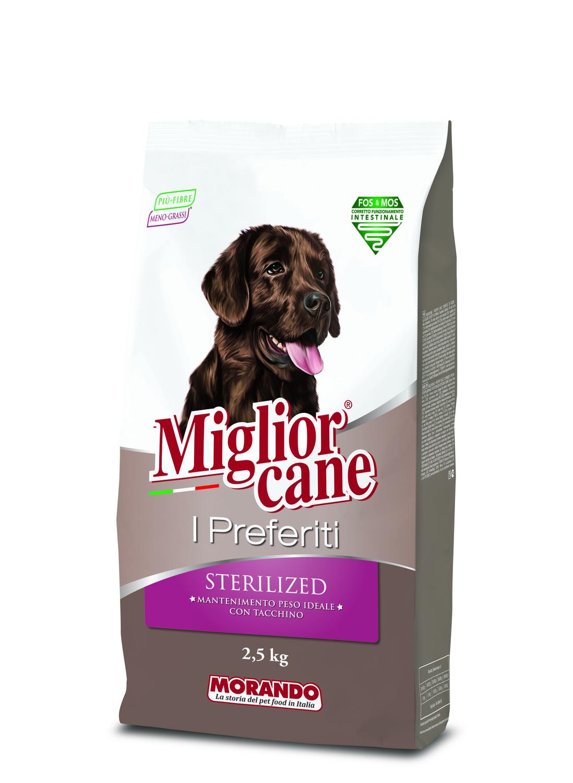 Crocchette Migliorcane I Preferiti Sterilized: una nuova ricetta per favorire il mantenimento del peso dei cani sterilizzati