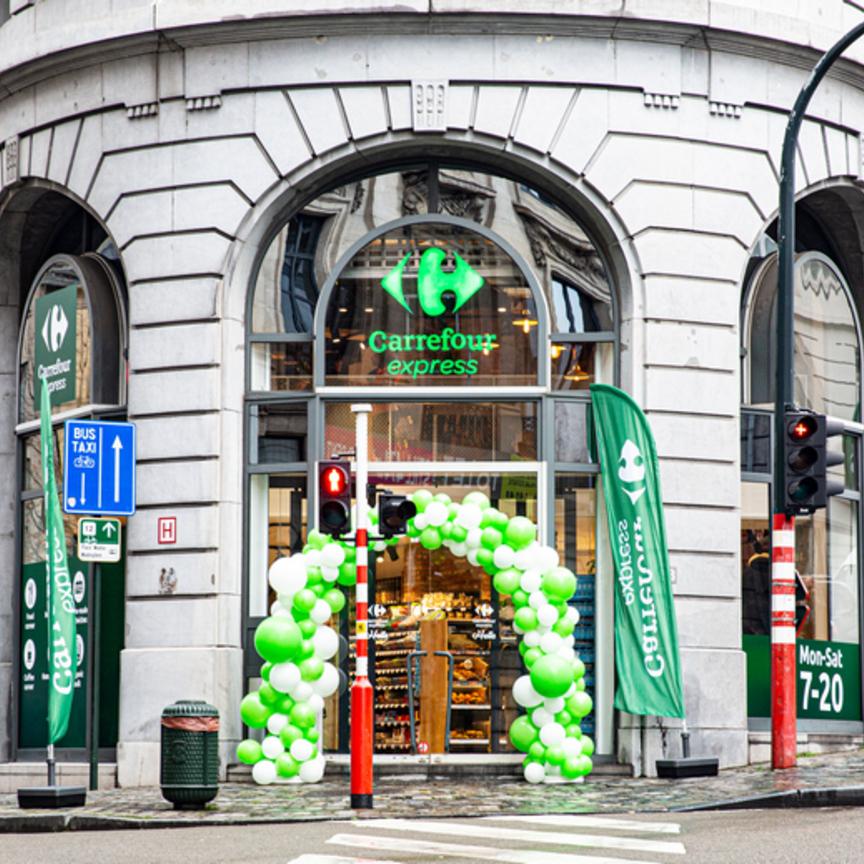 Carrefour ribadisce a Bruxelles il concept di Milano Urban Life