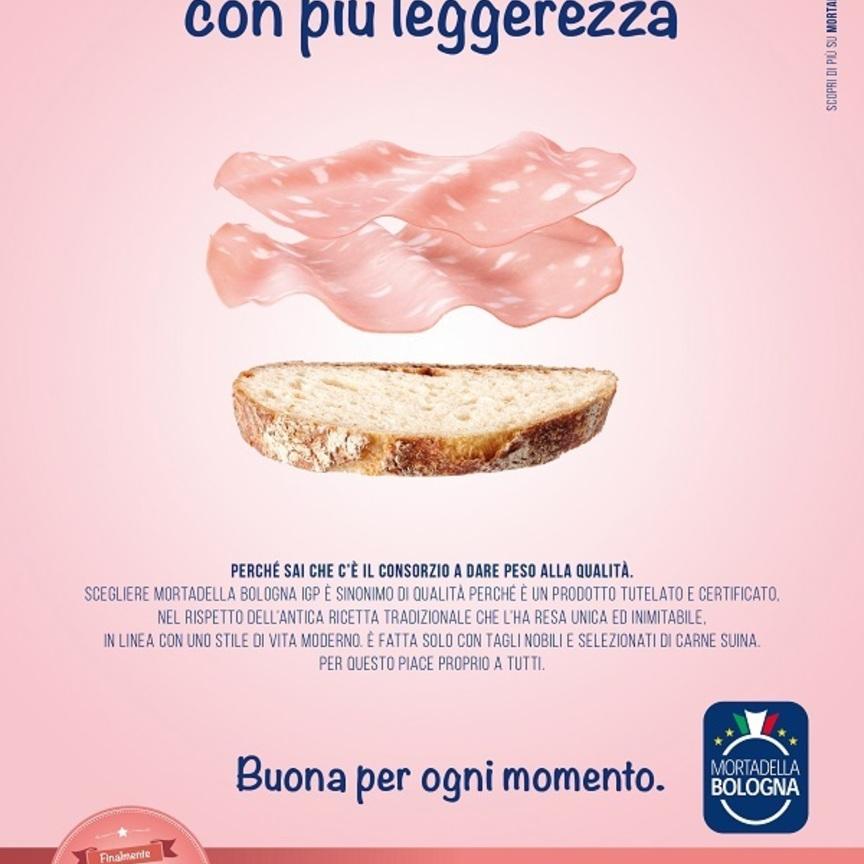 Consorzio Mortadella Bologna lancia la prima campagna digital