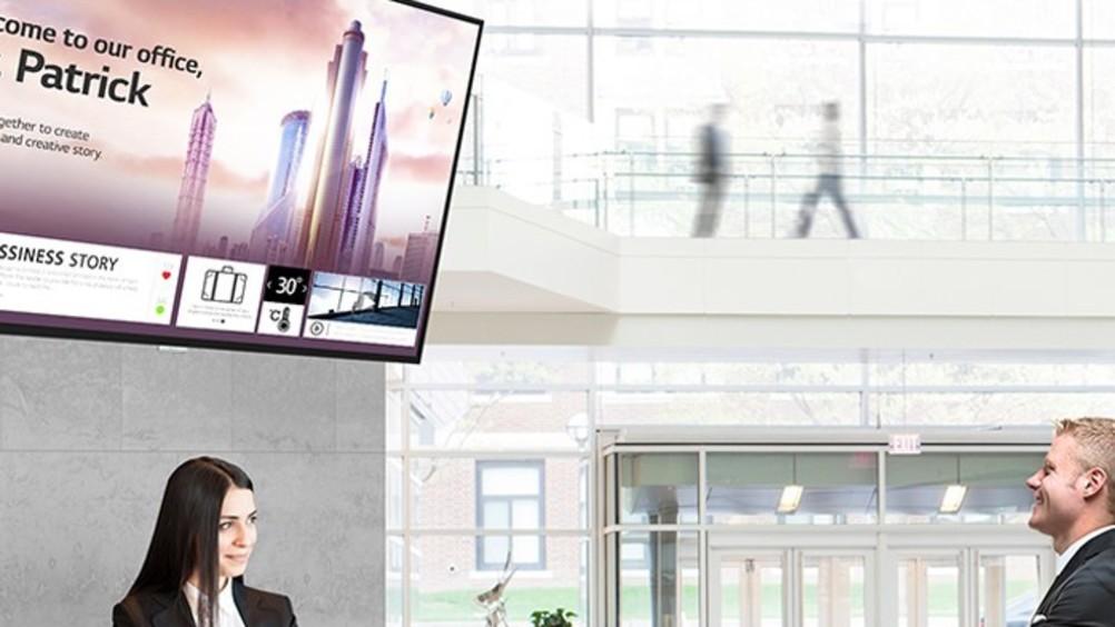 Lg presenta i nuovi monitor signage ultra hd