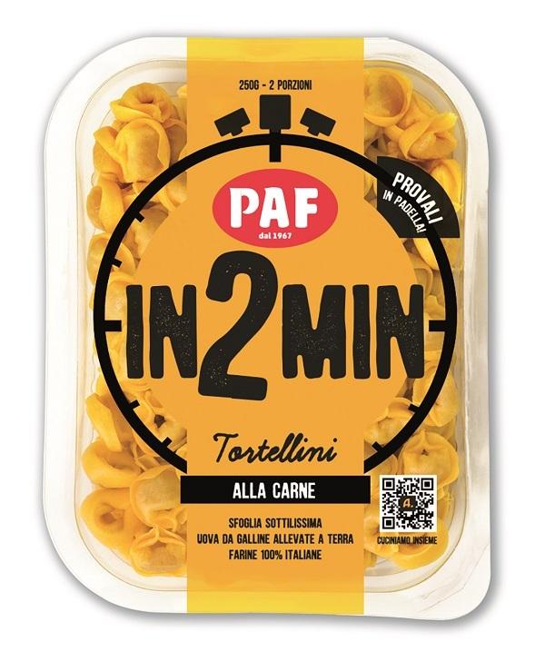 Gruppo Fini rivoluziona il modo di gustare la pasta fresca ripiena con il marchio Paf