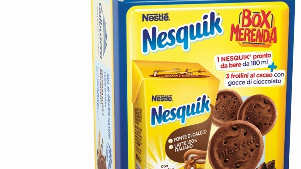 La famiglia Nesquik si allarga con Box Merenda