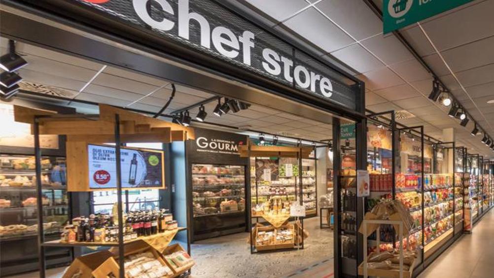 Rinnovato da Cefla il market dello storico Ponte Chef Express sull'A4, a Novara