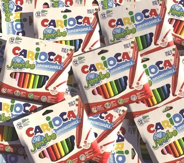 I pennarelli Carioca entrano in 75.000 negozi cinesi