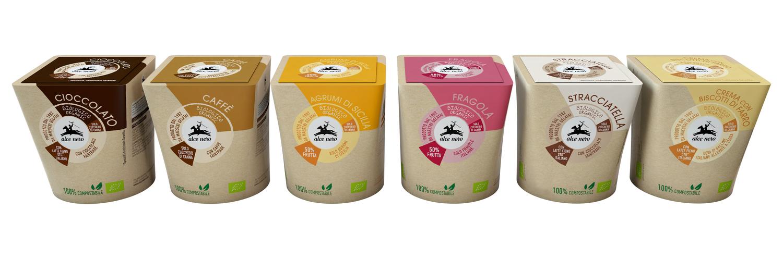 Alce Nero presenta i nuovi gelati e sorbetti bio