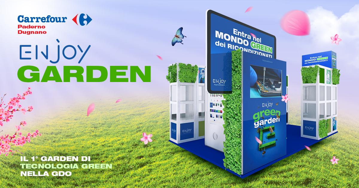I prodotti ecosostenibili di Enjoy Garden approdano in Carrefour Italia