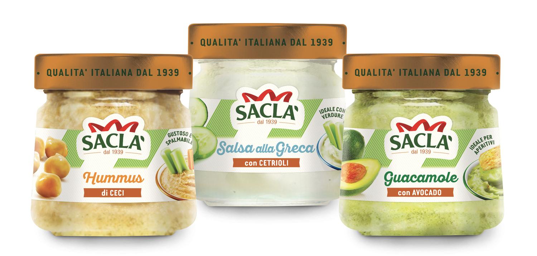Salsa alla greca, Hummus di ceci, Guacamole con avocado: la proposta Saclà dai profumi etnici!