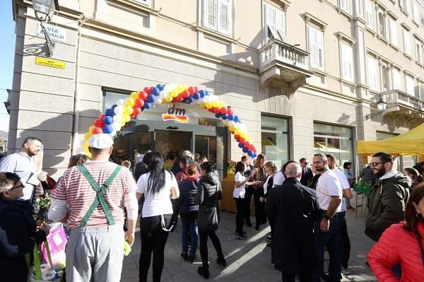 dm drogerie markt inaugura a Gorizia