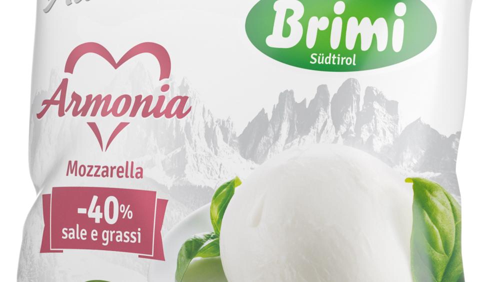 Brimi presenta la nuova mozzarella Armonia