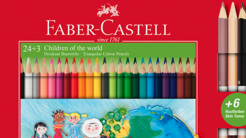 "Faber-Castell presenta ""Children of the World"""