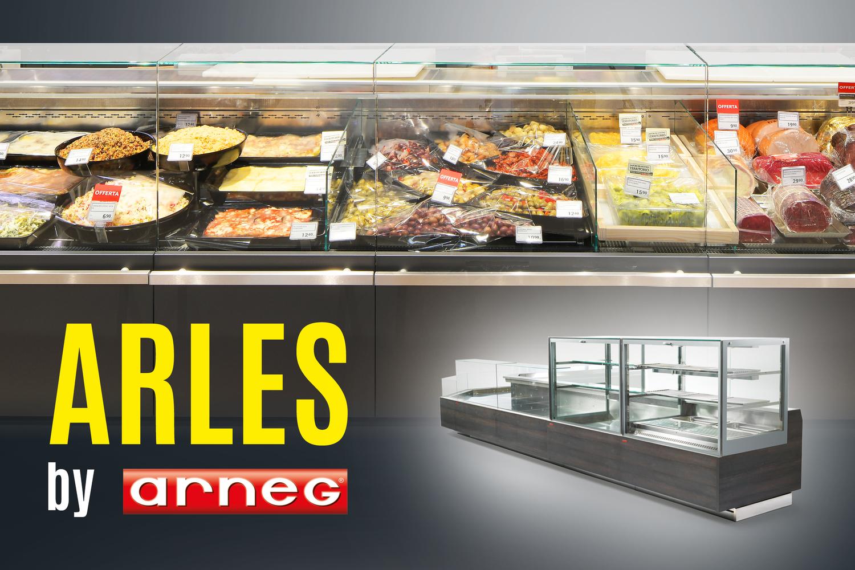Mobili refrigerati Arles: il gusto trasparente
