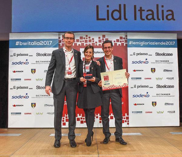 Lidl Italia si conferma nella top 10 di great place to work