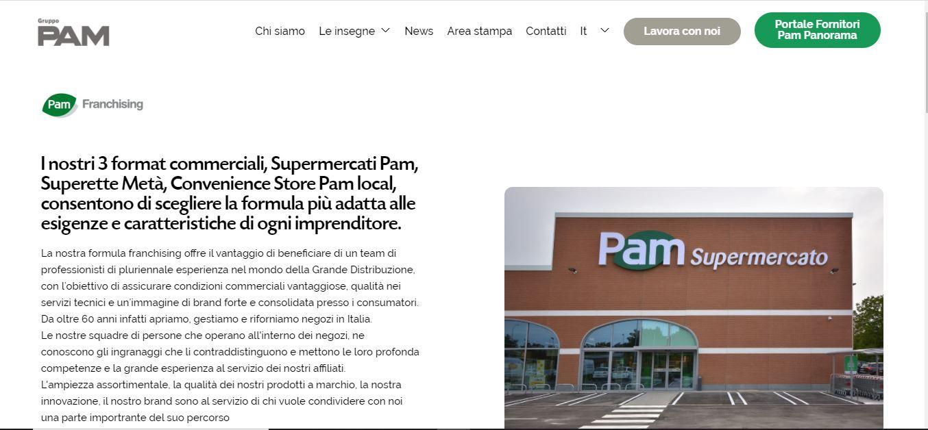 Pam Franchising e Supercentro concludono la collaborazione commerciale