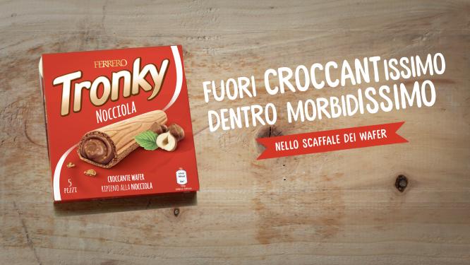 Ferrero, on air con Tronky
