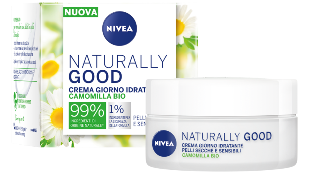 ​Nivea firma la nuova linea Naturally Good