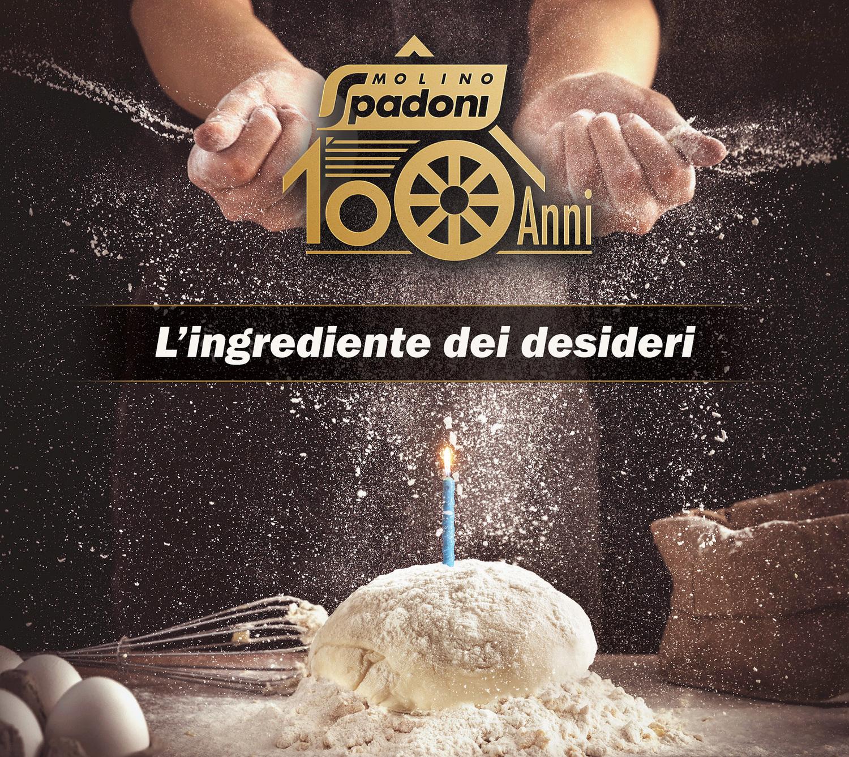 Molino Spadoni festeggia i suoi primi 100 anni con il contest #ingredientedeidesideri