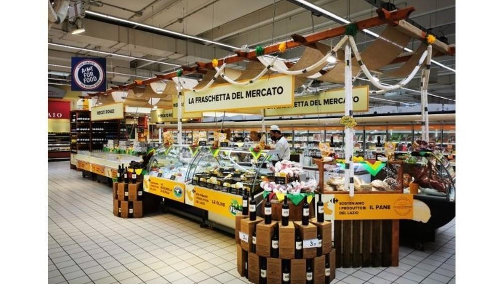 Carrefour sostiene i produttori del Lazio e valorizza le eccellenze locali del territorio.
