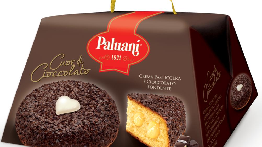Paluani presenta la torta dell'amore