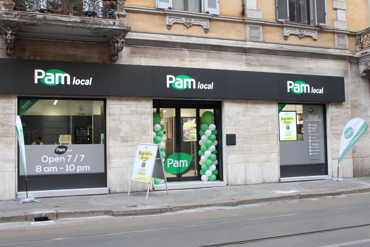 Apre un nuovo Pam local a Milano