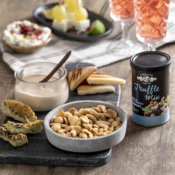 Urbani Tartufi propone tre snack gourmet