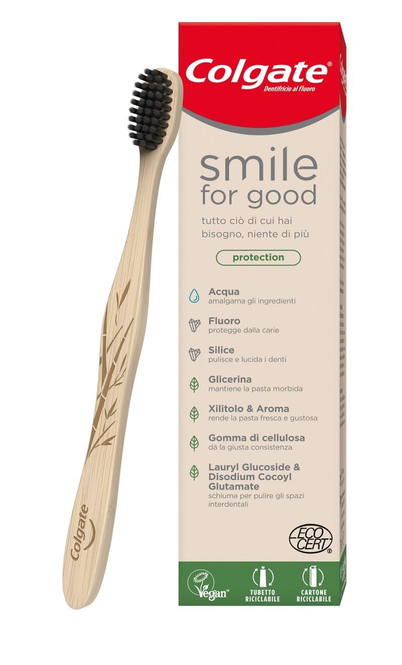 Da Colgate il nuovo dentifricio Smile for Good