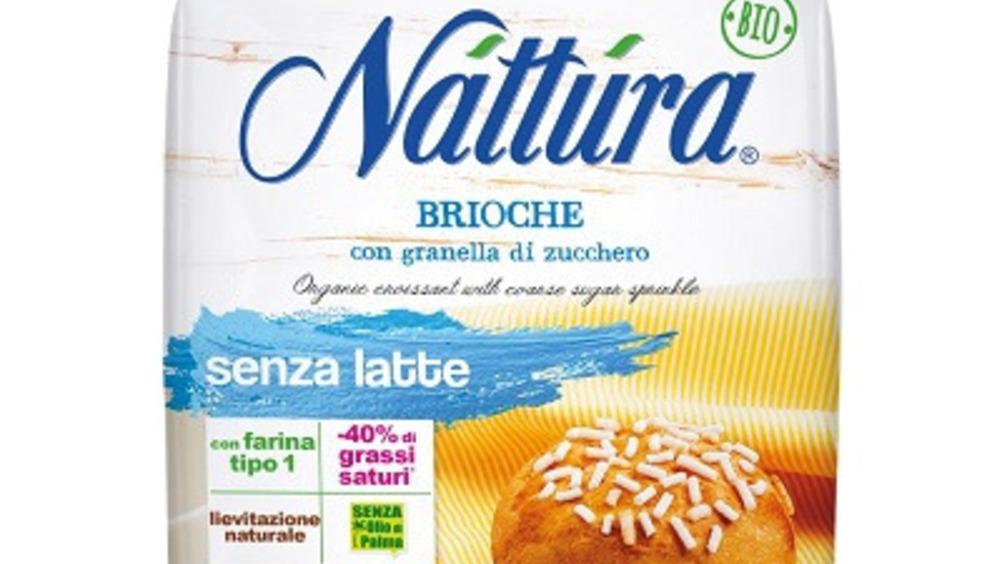Náttúra Brioche Bio con granella di zucchero