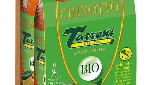 Arriva il nuovo Chinotto Tassoni Bio