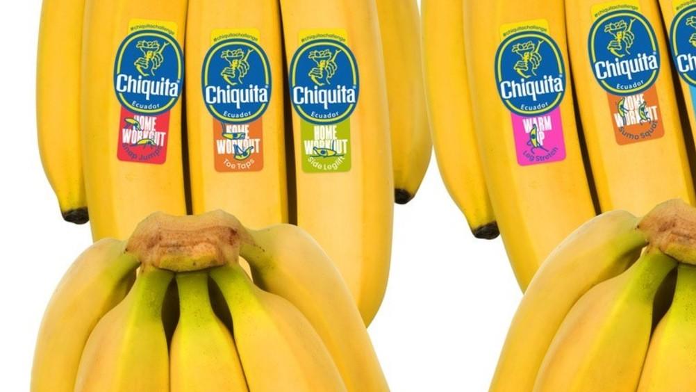 "Chiquita: tre nuove ""fitness challenge"""