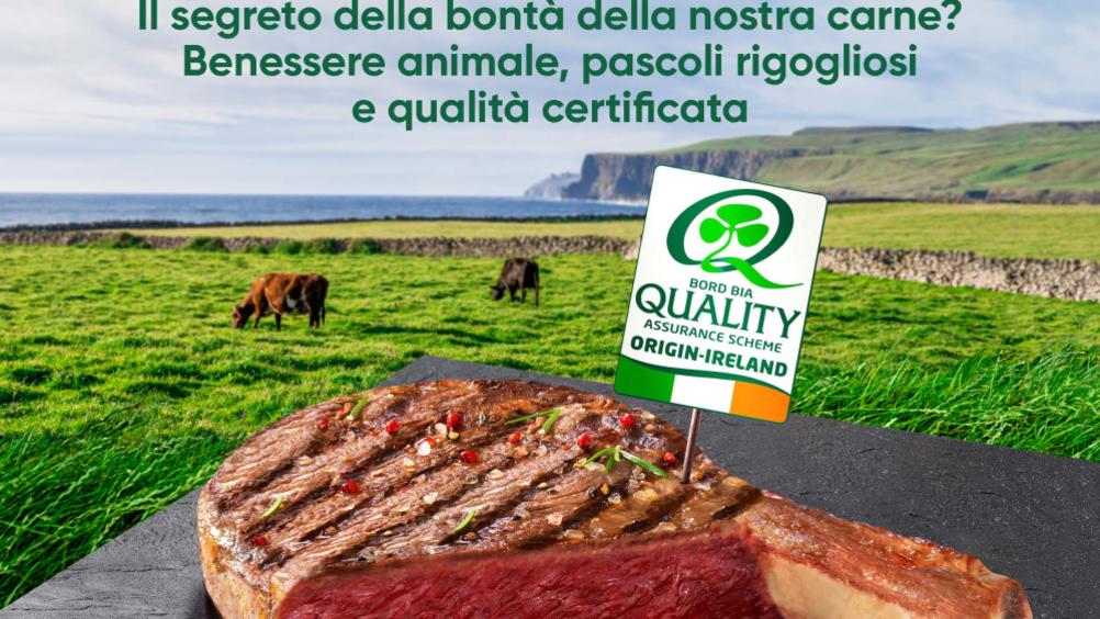 """Bord Bia presenta """"Carne irlandese. Il sapore dell'eccellenza"""""""