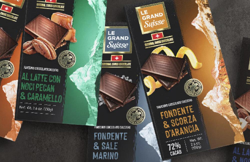 Atlante amplia il suo portfolio con una linea premium di cioccolato svizzero