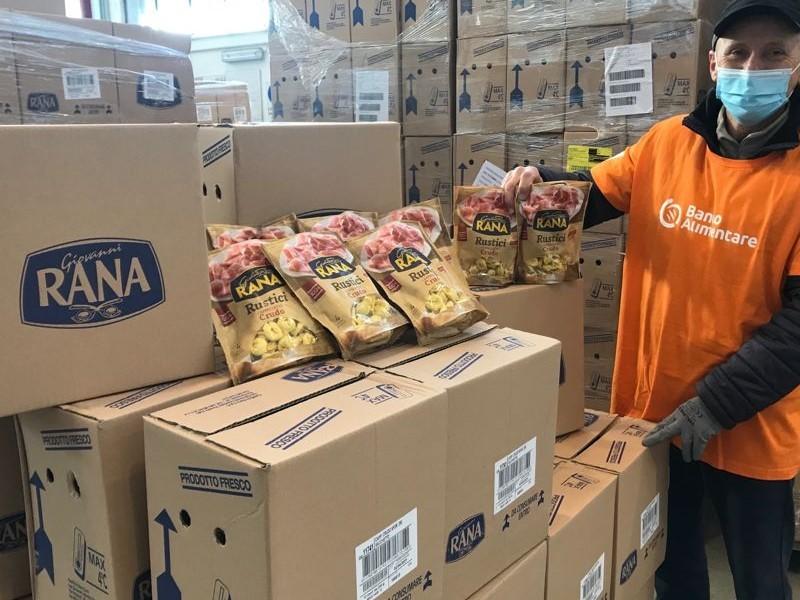 Rana: donati oltre 2 milioni di piatti freschi alle persone bisognose
