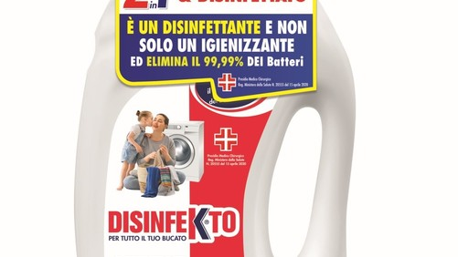 Madel lancia Disinfekto Lavatrice