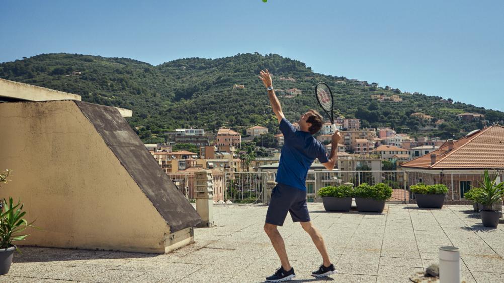 Barilla: un match con Federer sui tetti di Finale Ligure