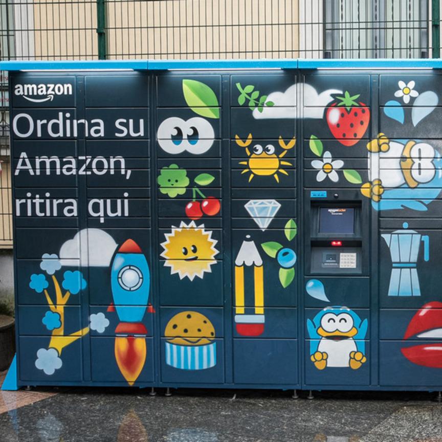 Amazon consegnerà in 100 stazioni Ferrovienord