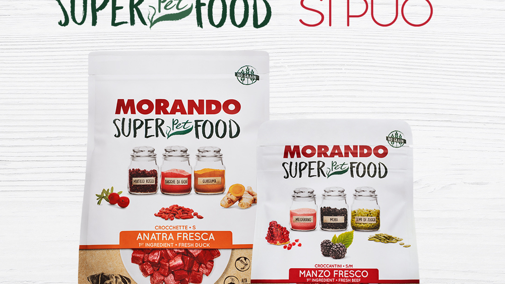 ​Morando SuperPetFood: on air e online le campagne dedicate