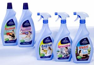 Nuova linea felce azzurra casa distribuzione moderna - Prodotti pulizia bagno ...