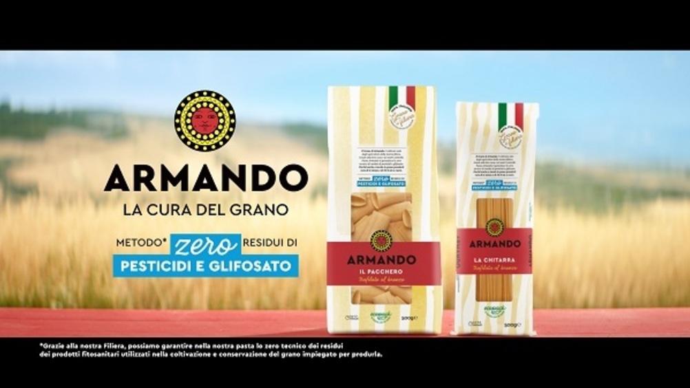 Pasta Armando punta su grano di filiera 100% italiano e sostenibilità