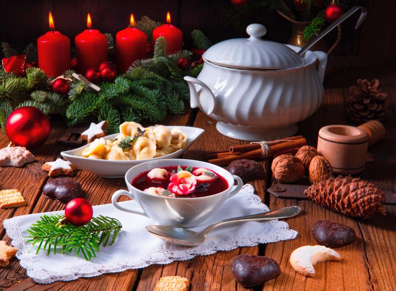 A Natale e Capodanno la buona tavola è cresciuta del 20 per cento