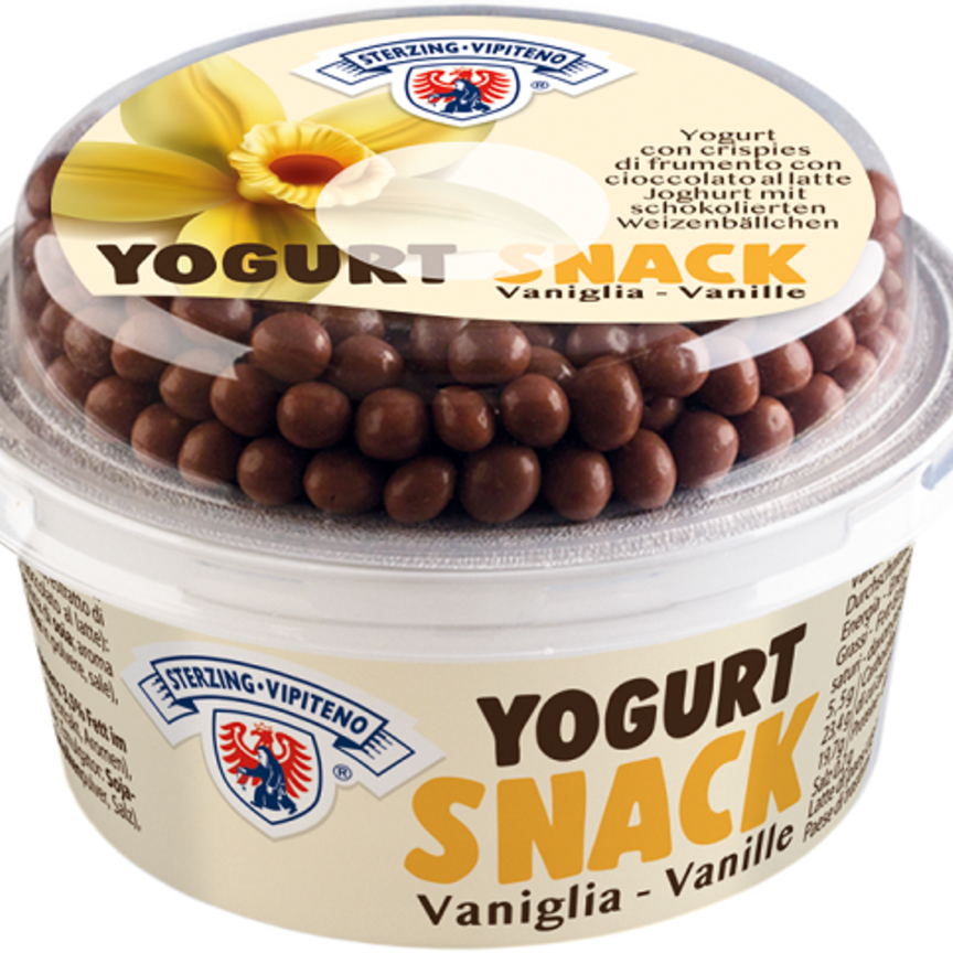 Latteria Vipiteno presenta i nuovi Yogurt Snack