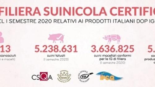Prosciutto di Parma Dop e Prosciutto di San Daniele Dop insieme per tracciare la filiera suinicola