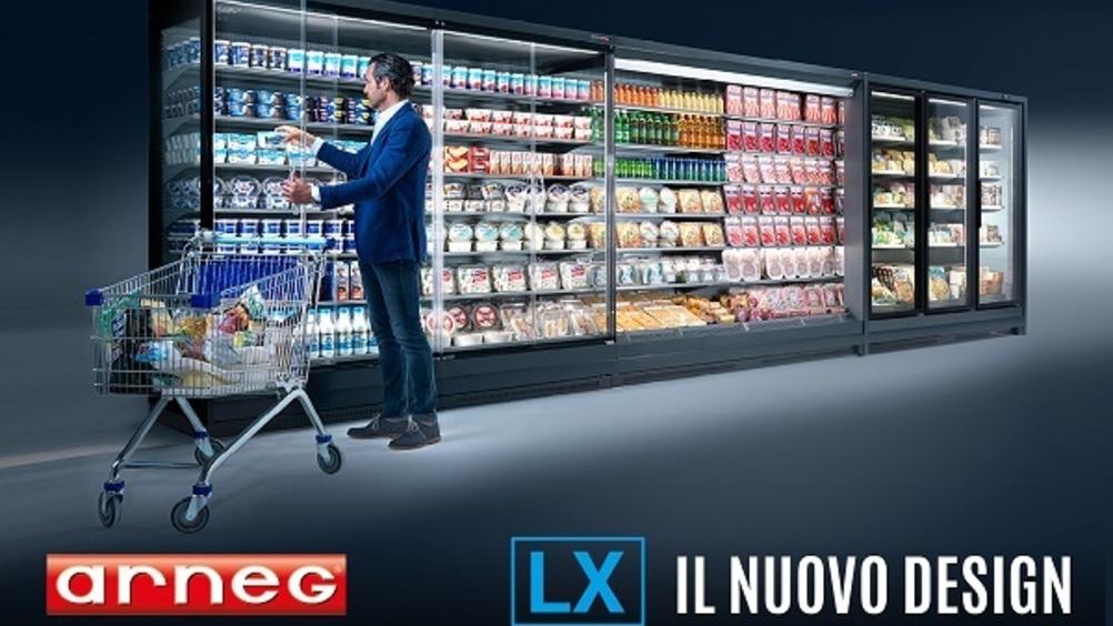 Arneg lancia la linea di banchi refrigerati LX