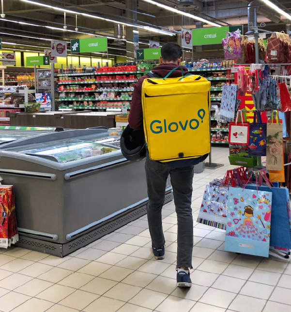 Glovo Fa La Spesa Per I Clienti Di Carrefour Distribuzione Moderna