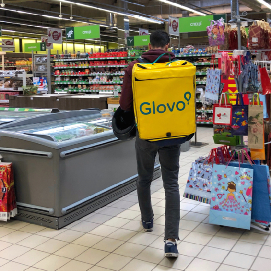 Glovo fa la spesa per i clienti di Carrefour